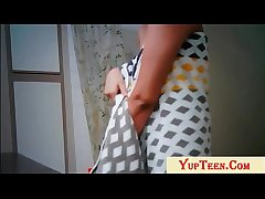 Indian College Girl Changing Cloths Check out Clear out