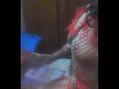 #NaziaPathan Indian arab housewife showing personally on camera - part 3/3