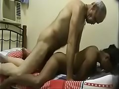 Horny Old School Teacher Tutor Hard Fucking a Young desi student when wife not in home