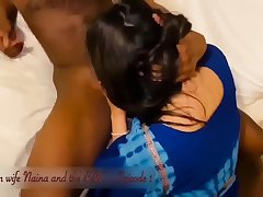 Indian wife Naina having sex filmed by her cuckold husband in hotel room