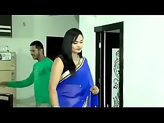 Beautiful Bhabhi in saree rendering hot sex everywhere every other baffle